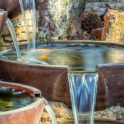 garden water feature bowls
