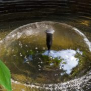 pond water fountain with pump