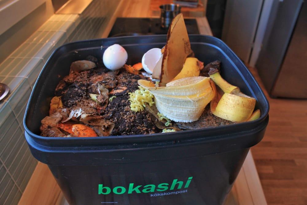 a bokashi composting system