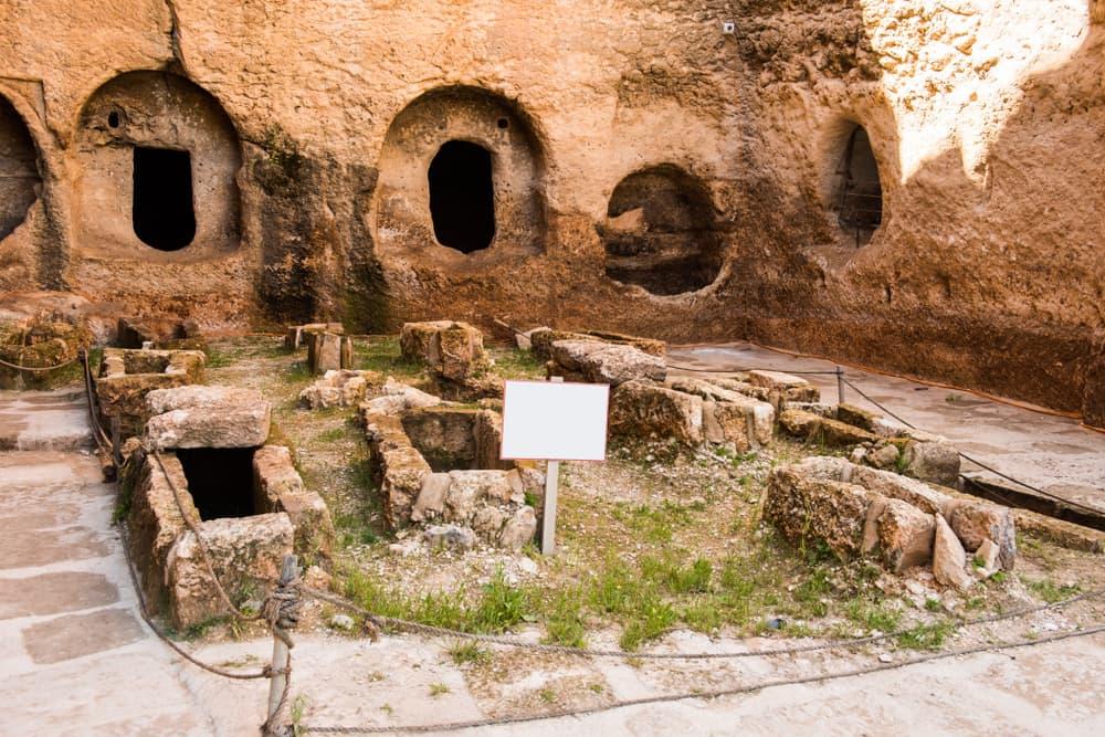 ruins of Dara, Mesopotamia, now Mardin, Turkey