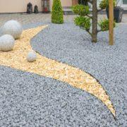 a modern gravel garden